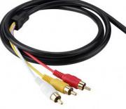 Audio un video kabeļi
